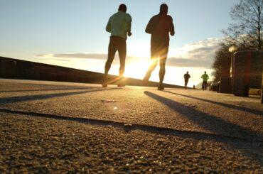 Two Guys Running